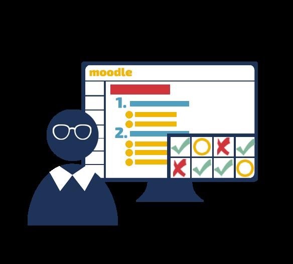 Fokusna spletna delavnica: Vrednotenje znanja v spletni učilnici Moodle