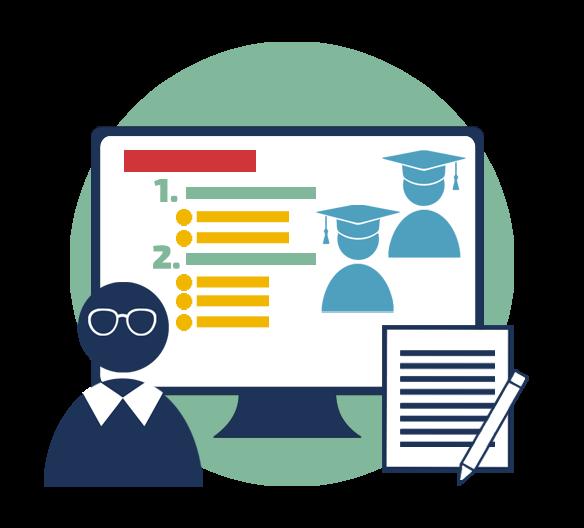 Vrednotenje znanja na daljavo z uporabo IKT
