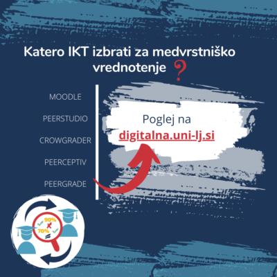 IKT za medvrstniško vrednotenje dela študentov
