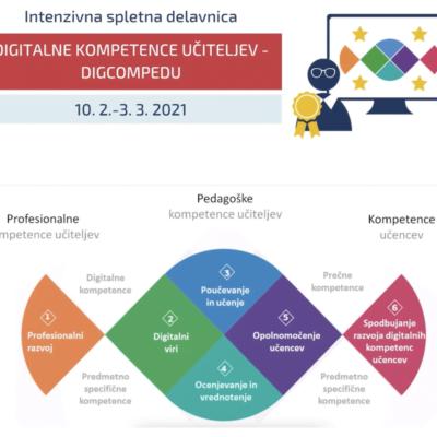 Digitalne kompetence učiteljev