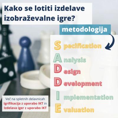 Metodologija za razvoj in izdelavo izobraževalnih iger