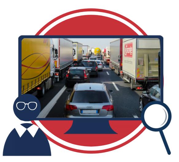 Uporaba laboratorija za sprejemanje odločitev v podporo vizualni analizi študentov pri reševanju prometnega problema