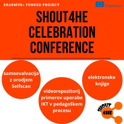Konferenca projekta SHOUT4HE