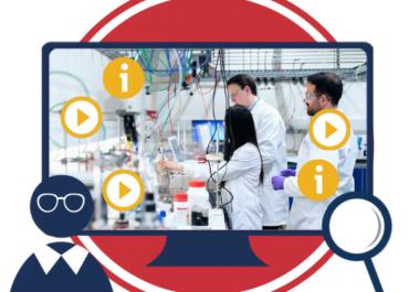 Študijske izkušnje z izvedbo digitalnega usposabljanja o laboratorijski varnosti